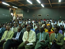 Lecture given by President Enemark in Nairobi - Click picture for bigger format.